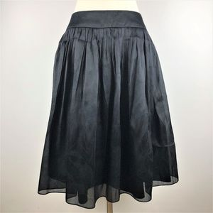 Carmen Marc Valvo Full Silk Skirt Size 6